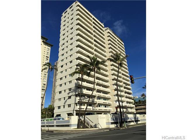 Twin Towers The 2085 Ala Wai Boulevard Unit A81 Honolulu
